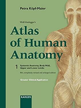 Wolf-Heideggers Atlas of Human Anatomy: Latin Nomenclature 9783805576673