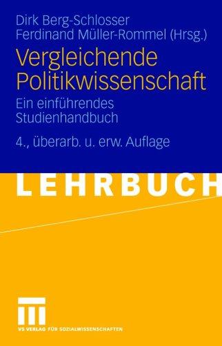 Vergleichende Politikwissenschaft: Ein Einf Hrendes Studienhandbuch 9783810038609