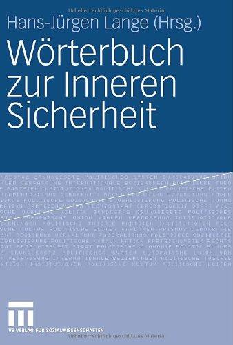 Worterbuch Zur Inneren Sicherheit (2006) 9783810036100