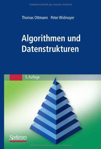Algorithmen Und Datenstrukturen 9783827428035