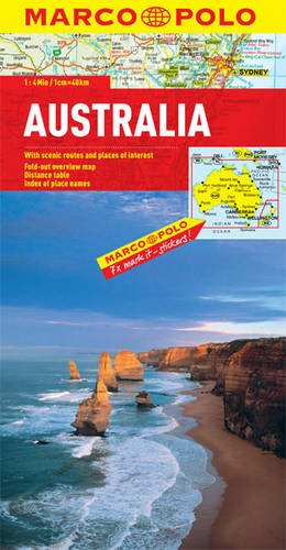 Australia Map 9783829767460