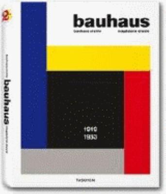 Bauhaus 1919-1933 9783822850022