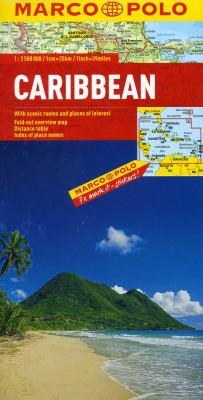Caribbean Map 9783829767354