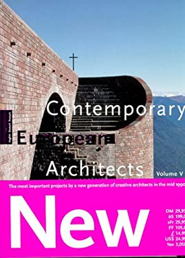 Contemporary European Architects: Vol. 5 9783822880708
