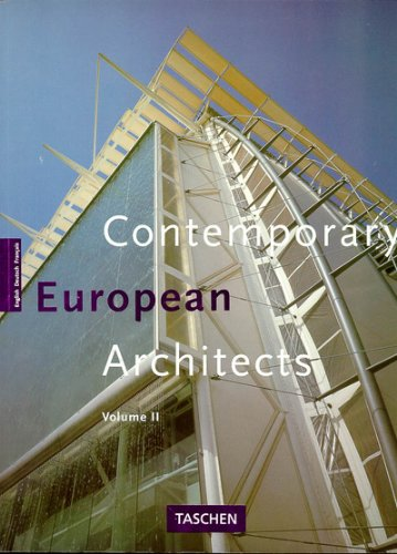 Contemporary European Architects: Vol. 2 9783822894552