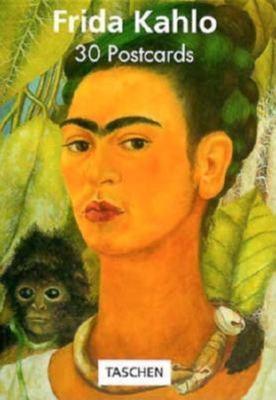 Kahlo Postcard Book 9783822897652