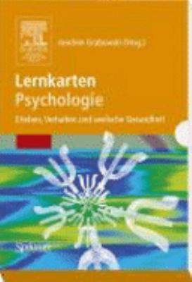 Lernkarten Psychologie: Erleben, Verhalten Und Seelische Gesundheit 9783827418906