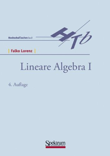 Lineare Algebra I 9783827414069