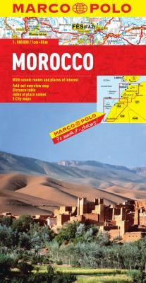 Morocco Map 9783829767316