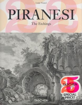 Piranesi: The Etchings 9783822850947