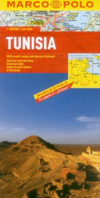 Tunisia Map 9783829767323