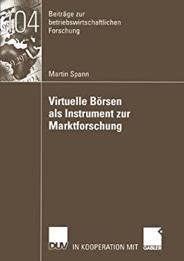 Virtuelle B Rsen ALS Instrument Zur Marktforschung 9783824491018
