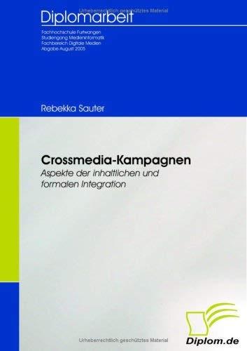 Crossmedia - Kampagnen 9783832491673