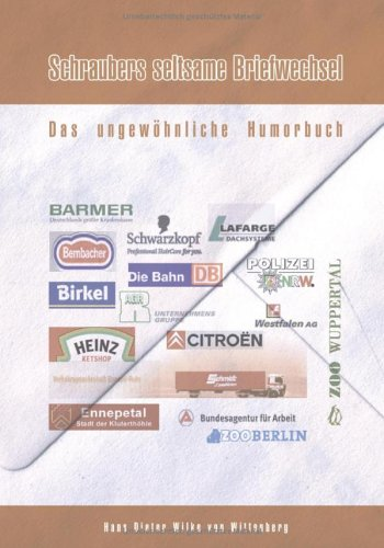 Schraubers Seltsame Briefwechsel 9783833417955