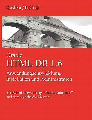 Oracle HTML DB 1.6 9783833431159