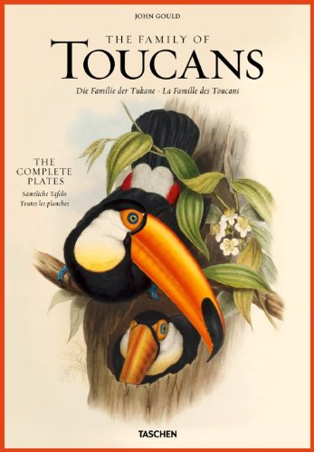John Gould: Family of Toucans 9783836505246