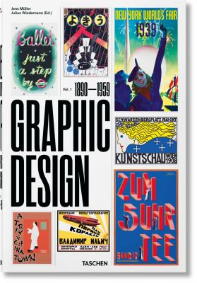 History of Graphic Design: Vol. 1, 1890-1959 (Multilingual Edition)