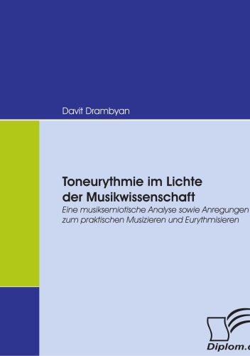 Toneurythmie Im Lichte Der Musikwissenschaft 9783836664912
