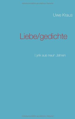Liebe/Gedichte 9783837043914