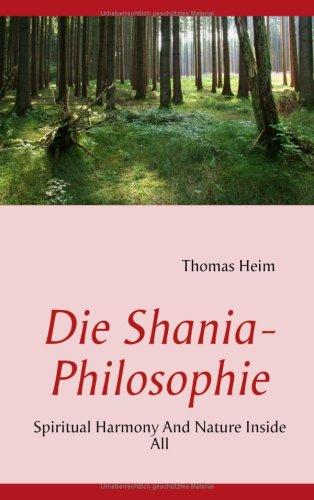 Die Shania- Philosophie 9783837092493