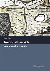 KONVERSATIONSSPIELE WWW UND VIS- -VIS - Eske, Antje