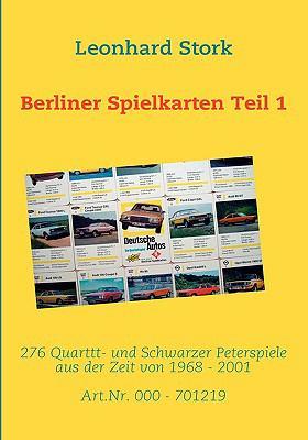Berliner Spielkarten Teil 1 9783837072594