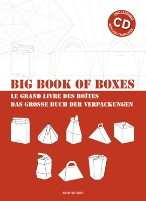 Big Book of Boxes/Le Grand Livre Des Boites/Das Grosse Buch Der Verpackungen [With CDROM] 9783836517133