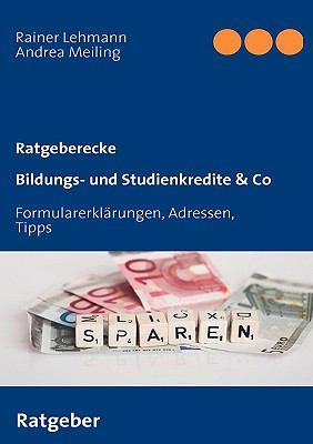 Bildungs- Und Studienkredite & Co 9783837016086