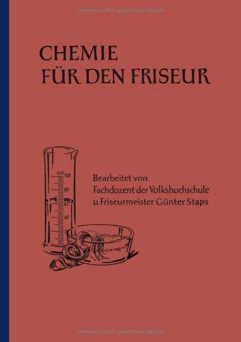 Chemie Fr Den Friseur 9783831144570