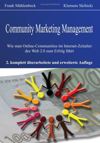 Community Marketing Management 9783833492624