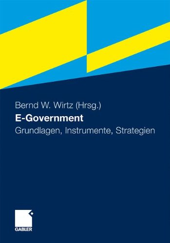 E-Government: Grundlagen, Instrumente, Strategien 9783834918765