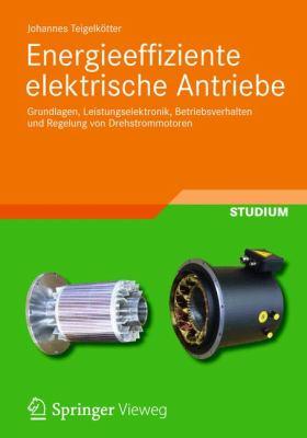 Energieeffiziente Elektrische Antriebe: Grundlagen, Leistungselektronik, Betriebsverhalten Und Regelung Von Drehstrommotoren 9783834819383