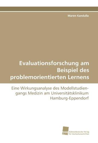 Evaluationsforschung Am Beispiel Des Problemorientierten Lernens 9783838124445