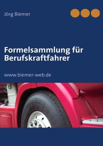 Formelsammlung Fr Uber Ufskraftfahrer 9783833496257