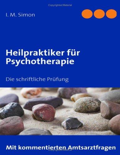 Heilpraktiker Fur Psychotherapie 9783837003475