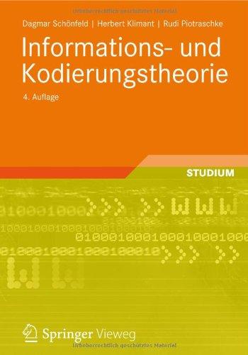 Informations- Und Kodierungstheorie 9783834806475