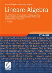 Lineare Algebra: Mit Zahlreichen Anwendungen in Kryptographie, Codierungstheorie, Mathematischer Physik Und Stochastischen Prozess