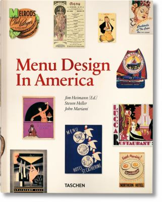 Menu Design in America 9783836526623
