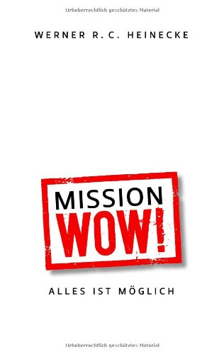 Mission Wow! 9783839192658