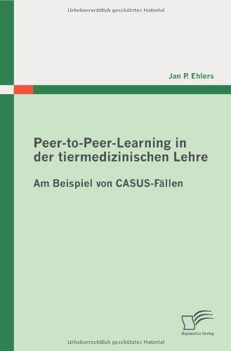 Peer-To-Peer-Learning in Der Tiermedizinischen Lehre 9783836671736