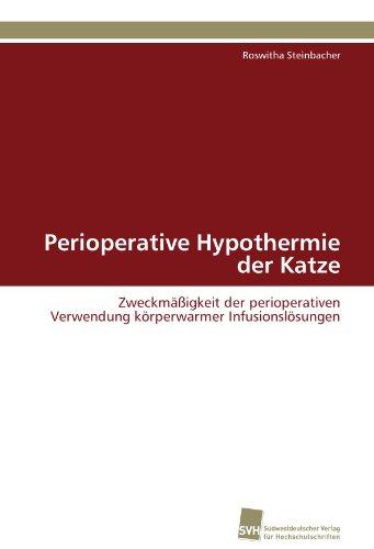 Perioperative Hypothermie Der Katze 9783838126777