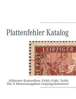 Plattenfehler Katalog 9783839180365