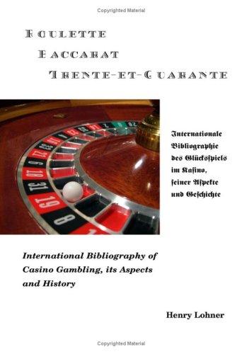 Roulette - Baccarat -Trente-Et-Quarante 9783833492112