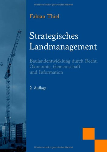 Strategisches Landmanagement 9783837016802