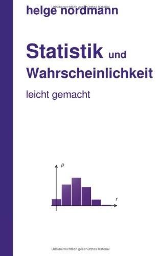 Statistik Und Wahrscheinlichkeit 9783833499777