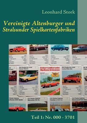 Vereinigte Altenburger Und Stralsunder Spielkartenfabriken 9783837056952