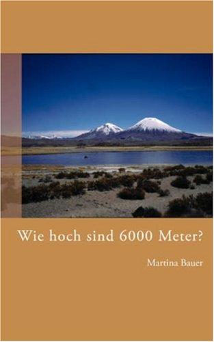 Wie Hoch Sind 6000 Meter? 9783833442391