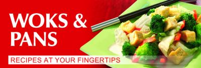Woks & Pans: Recipes at Your Fingertips 9783833162022