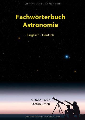 Fachw Rterbuch Astronomie 9783842319639