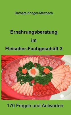 Ern Hrungsberatung Im Fleischer-Fachgesch FT 3 9783842364721